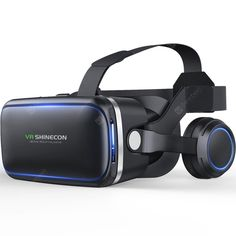 VR Headset Virtual Reality Headset, VR Goggles for TV, Movies & Video Games - VR Glasses Virtual Reality Glasses Compatible iOS, Android & Other Phones Within with Controller Virtual Reality Goggles, Virtual Reality Games, Virtual Reality Headset, Augmented Reality, Vr Headset, Vr Shinecon, Application Google, Iphone 6, Carnival