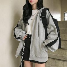 Kpop Fashion Outfits, Mode Outfits, Retro Outfits, Cute Casual Outfits, Casual Clothes, Korean Casual Outfits, Korean Outfit Street Styles, Korean Style Clothing, Korean Clothes