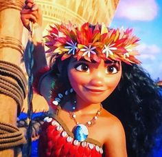 Moana Best believe I'm gonna be doing a cosplay of this outfit ❤
