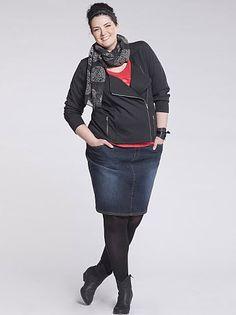 johanna dray   Johanna Dray présente la nouvelle collection grande taille automne ...