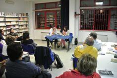 #lettidinotte in @BMTCampobasso con Silvana Mosca che ci legge e racconta Dino Buzzati