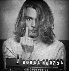 Johnny Depp mug shot