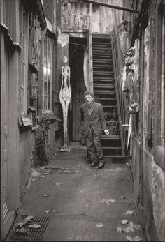 Giacometti,Paris,1961
