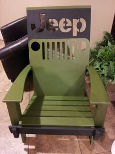 Jeep chair.
