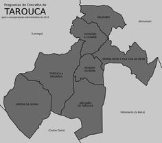 Freguesias do concelho de Tarouca