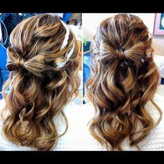 Pinterest | Hair Bow, Hair Style And Hair Makeup