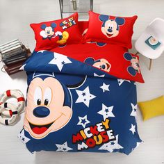 2015 New Mickey Bedding Classic Mickey Mouse Bedding Mickey Mouse Junior Bedding Twin Full Queeen King