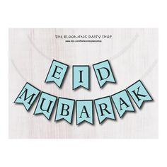 Eid Decorations Bundle-Eid Printable-Eid Party Decor-Eid Banner-Eid card- Eid gift Tags-Eid Cupcake Toppers- Eid CAKE Topper-Eid Printables by TheBloomingDaisyShop on Etsy