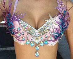 Mermaid Bra by DevonWinstonDesigns on Etsy
