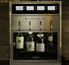 Dacor DYWS4 20 Inch Wine Storage with 4-Bottle Capacity, Thermo-Electric Cooling System, LCD Controls, Dispensing System and Parental Control Locking Door