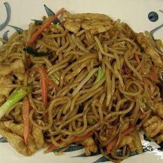 Spicy Chicken Lo Mein Recipe   Key Ingredient