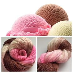 SOLD OUTWhich photo is ice cream and which is yarn!