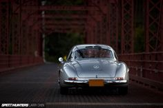 Vintage Mercedes Benz #300SL (one of only 29 alloy-bodied Gullwings ever made). #BruceAdams190SL / #190SLRestorations