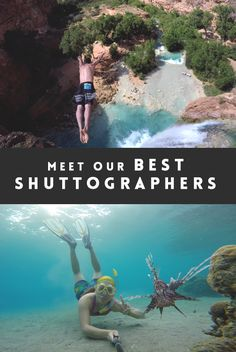From extreme cliff divers to landscape photography lovers, skaters, cinematographers and the most adventurous globetrotters! Go follow them on Shutta!