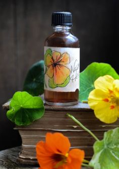 A super easy recipe for making your own Nasturtium Hot Sauce, so much better than store bought sauces and a real taste of summer sunshine all year round.