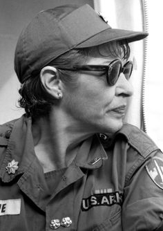 Martha Raye visits the troops in Vietnam, 1965. She was also apparently a surgical nurse and occasionally pinch hit for the exhausted nurses in the field.