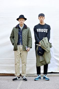 Men's Spring Summer Street Style Fashion.