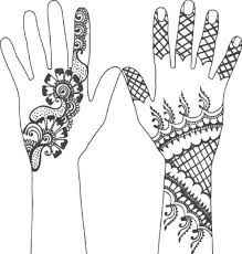 Classy Mehndi Designs For Hands Step By