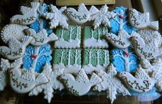 Decorated Sugar Cookies #Winter #Epiphany