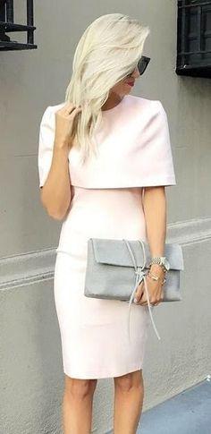 0c24ef8f3fbd Elliatt Elevate Light Pink Midi Dress