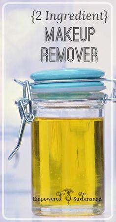 {2 Ingredient} DIY Makeup Remover