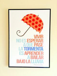 Vivir #posters #Phraseando