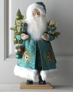 """A Regal Christmas"" Santa by Lynn Haney at Horchow."