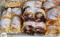Érdekel a receptje? Kattints a képre! Hungarian Recipes, Strudel, French Toast, Sandwiches, Sweets, Bread, Diet, Baking, Breakfast