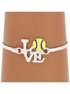 Silver softball! LOVE