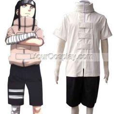 Naruto Shippuden Hyuuga Neji Cosplay Costume, Naruto Cosplay Costumes, Cosplay Costumes
