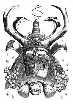 Samurai Mask by Matt Heath