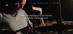 Nachtergaele Herstofferen - webdesign. Programmeren en bouwen website in opdracht van Agent Orange Creative Agency - www.herstofferen.be Website