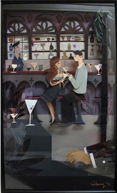 Paper Cut Illustration - neiko art