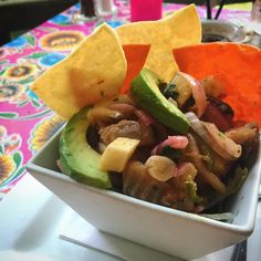#lifestyles #foodie #travel Nothing like having fresh cerviche out on the patio on a hot summer day.  #sanantonio #riverwalk #fitlife #fitfood #fitfoodie #healthyfood #lifestyleblogger #travelblogger #vanlife #travelblog #food #foodblogger #healthy #lunch