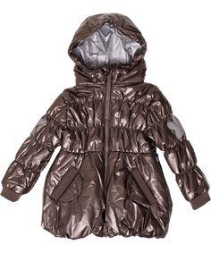 Molo shinny down 3/4 jacket for girls #emilea