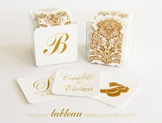 49 Colors 36 Label Styles  Damask Pattern by tableauparty on Etsy, $15.00
