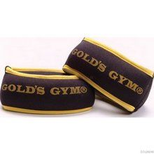 GoldsGym Golds Gym Aerobic Neoprene Wrist Weights - Weight: 2 x 0.5 kg - Available in Burgundy Colour http://www.comparestoreprices.co.uk/keep-fit/goldsgym-golds-gym-aerobic-neoprene-wrist-weights.asp