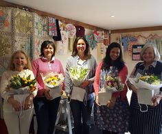A wonderful morning teaching these lovely ladies at @madeandmaking   #bloomroomuk #sussexflorist #flowerstagram #instaflowers #floristryworkshops #supermarketflowers #learnsomethingnew #crafting #madeandmaking  We've got lots more Floristry workshops taking place at the wonderful made and making Studio in Hassocks - visit www.bloomroom.co.uk or www.madeandmaking.co.uk to find out more!