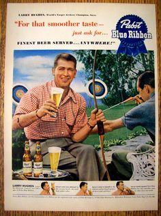 Finest beer served … anywhere! Pabst, Blue Ribbon | Slavomir Krestian | slavomirkrestian.com