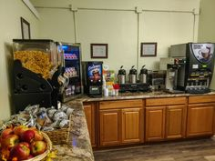 A self-serve Grab N' Go Breakfast valued at $7.00 per person is included for all paid and registered guests. Gratuity is not expected. This served from 7 am to 11 am. Coffee is provided in your room.
