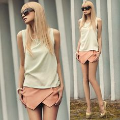 She Inside Shorts, Cubus Top, By Dziubeka Bracelet
