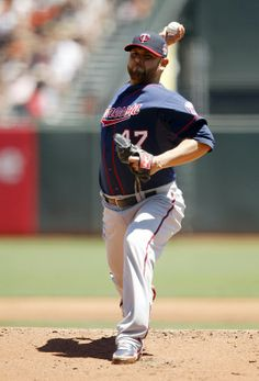 May 25, 2014; San Francisco, CA, USA; Minnesota Twins pitcher Ricky Nolasco (47) prepares to deliver a pitch against the San Francisco Giants in the first inning at AT&T Park. Mandatory Credit: Cary Edmondson-USA TODAY Sports