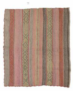 Peruvian Frazada Chunka Doce as bathroom rugs