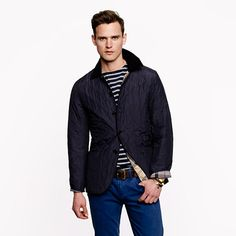 J.Crew - Barbour Tandale jacket. I think I need it.
