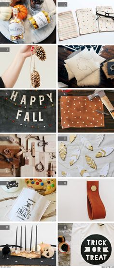 Fall DIY ideas   //   FOXINTHEPINE.COM