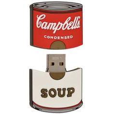 6c85a50281 Campbell s Soup Can USB 4GB mass storage device https   campbellshop.com   16.95
