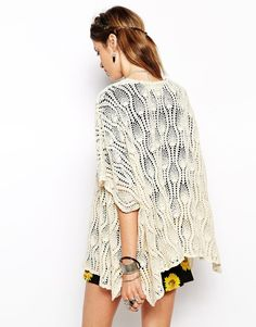 I am just so loving all these oversized pineapple jackets. Want. To. Make. (This one is by Band of Gypsies)