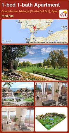 Apartment for Sale in Guadalmina, Malaga (Costa Del Sol), Spain with 1 bedroom, 1 bathroom - A Spanish Life Murcia, Malaga Airport, Puerto Banus, Parking Space, 1 Bedroom Apartment, International School, Apartments For Sale, Playground, Swimming Pools