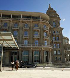 O hotel Sofitel Carrasco é um dos cenários da novela em Montevidéu (Foto: Chico Couto/Gshow)