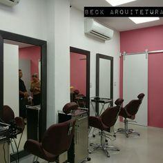 Projeto de arquitetura - Salão Studio Espaço UP
